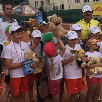 Turniej dla najmłodszych tenisistów Akademii Tenisa Michał Matyfi zakończony ☺ Dobra zabawa, walka do ostatniego punktu i wysoki poziom wyszkolenia technicznego.