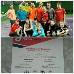 Kolejna porcja tenisowej wiedzy przekazana w rewelacyjny sposób :) Nowe kwalifikacje, cenne doświadczenie :)
