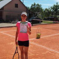 Po przerwie spowodowanej kontuzją Milena wraca w wielkim stylu :D  Zwycięstwo w WTK Kadetów- DIOXID CUP  :)