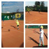 10-letni zawodnik z USA trenujący w John Mcenroe Tennis Academy oraz zawodnicy warszawskiej Legii to widok dość rzadki na dębickich kortach. Trener Michał Matyfi udoskonala umiejętności młodych gwiazdorów