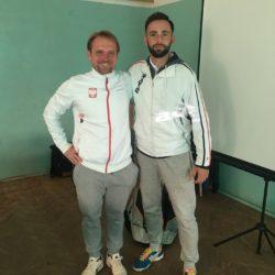 Trening udoskonalający pracę nóg na korcie z Pawłem Motylewskim- trenerem Reprezentacji Polski w tenisie U12/14. Nowa porcja wiedzy gotowa do przekazania moim podopiecznym :D