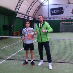 Nagroda za działalność szkoleniową na rzecz polskiego tenisa od zarządu PZT dla Michała Matyfi i kolejny sukces Antka... ciekawe dni D