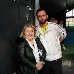 Spotkanie po latach z legendą polskiego tenisa -Barbarą Olszą i odświeżenie wspomnień