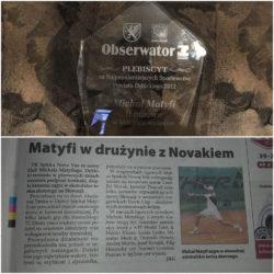 Plebiscyt na Najpopularniejszego Sportowca Powiatu Dębickiego 2012