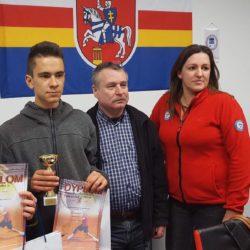 Ogólnopolski Turniej Klasyfikacyjny -Puławy. Antek Mierzwa kończy turniej na drugim miejscu w grze podwójnej 👌 Gratulacje 😎
