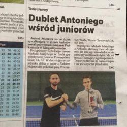 Dublet Antoniego w starszej kategorii